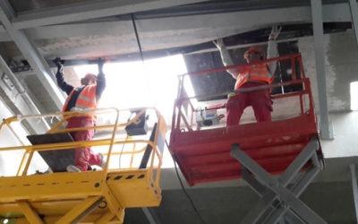 Δομητική ενίσχυση οροφής Κτιρίου PHARMATHEN