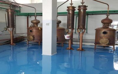 Εποξειδικό Δάπεδο Υψηλών Χημικών Απαιτήσεων.