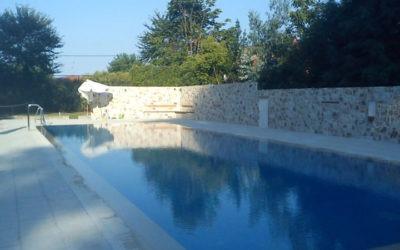 Κατασκευή πισίνας στην 6mx20m Ολυμπιάδα Χαλκιδικής