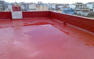 Στεγανοποίηση οροφής Κτιρίου ΕΒΕ Ροδόπης