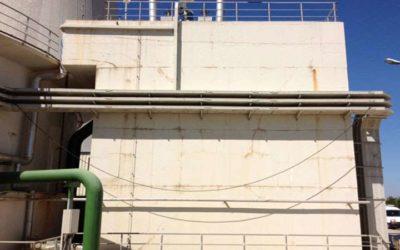 Στεγανοποίηση δεξαμενής ύδατος στον ΑΗΣ Κομοτηνής (ΔΕΗ)