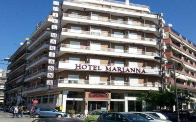 """Στεγανοποίηση ταράτσας και μπαλκονιών στο ξενοδοχείο """"Μαριάννα"""" στην Δράμα"""