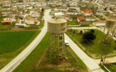 Υγρομόνωση Υδατόπυργου στα Μάγγανα Ξάνθης