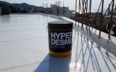Στεγάνωση ασφαλτόπανου με Hyperdesmo